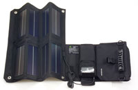 Solar Focus Battery Charger