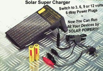Sun Star Super Solar Charger