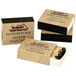 Waterproof Matches 4 pack