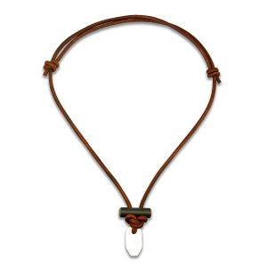 Wazoo Bushcraft Leather Necklace