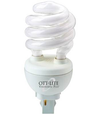Swirl ott lite bulb wisemen trading and supply Ott light bulb